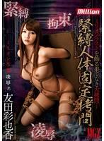 緊縛人體固定拷問 友田彩也香